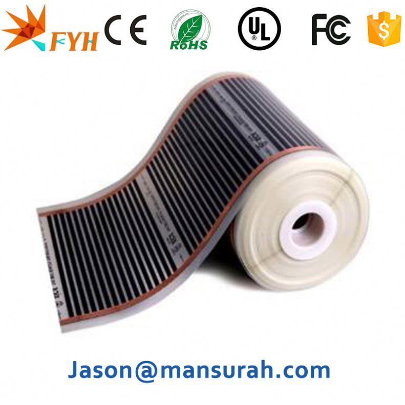 Factory Direct Electrical Outdoor Heat Mats Sensitive Resistant Film Tape
