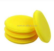 High Quality Round Shape Bank Pressing Car Wax Polish Applicator