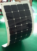 2016 High efficiency Sunpower 120W flexible Solar Panels for Caravan