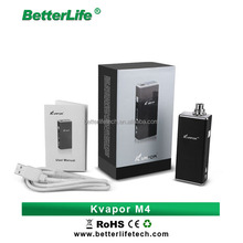 Betterlife best quality Kvapor vaporizer e cigarette m4 50w box mod rechargeable battery 50w vape e cig