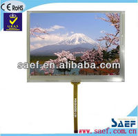 2013 New Developed 5.60 inch 640*(RGB)*480 Landscape touch screen tft lcd glass