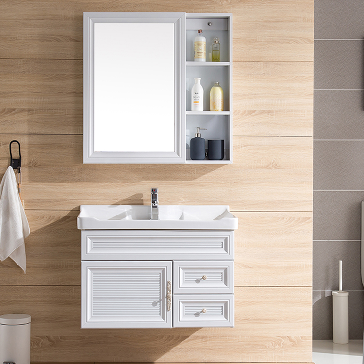Wall Mounted Bathroom Mirrored Cabinet