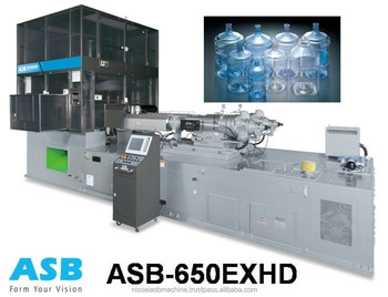 ASB - 650EXHD One Stage Injection Stretch Blow Molding Machine for 5 gallon bottle