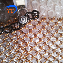 classical metal mesh curtain woven wire fabric drapery
