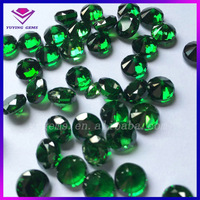 Thick CZ Stone Brilliant Round Green Color Hight Heavy Cubic Zirconia for The Market