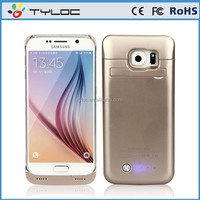 Wholesale Product 2015 For Samsung Galaxy S6 Edge External Battery Charger Case Power Case
