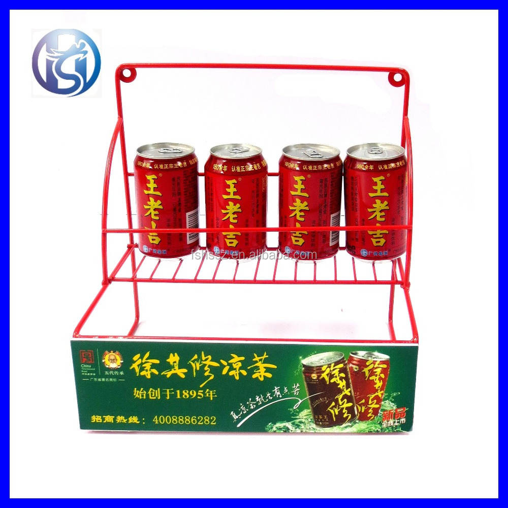 Durable Table Top Wire Display Rack for Store HS-X7