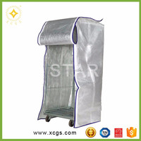 Aluminum multilayer foil shipping container insulation