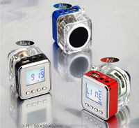 2014 Colorful MP3 USB Disk FM Radio Micro SD/TF Portable Mini Multimedia Speaker