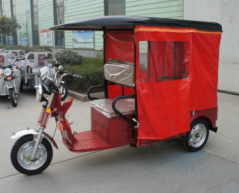 electric tricycle special design for indian market passenger E rickshaw supplier