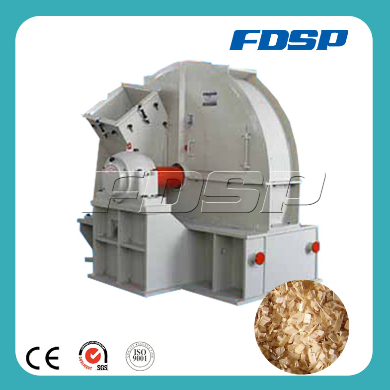 Uniform wood chips small electic wood chipper