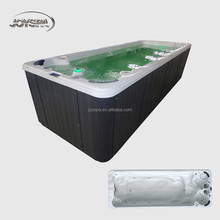 Air jet outdoor swim pool used swim spa/bathtub big size