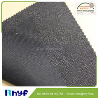 Double dot hat buckram interlining fabric for hat