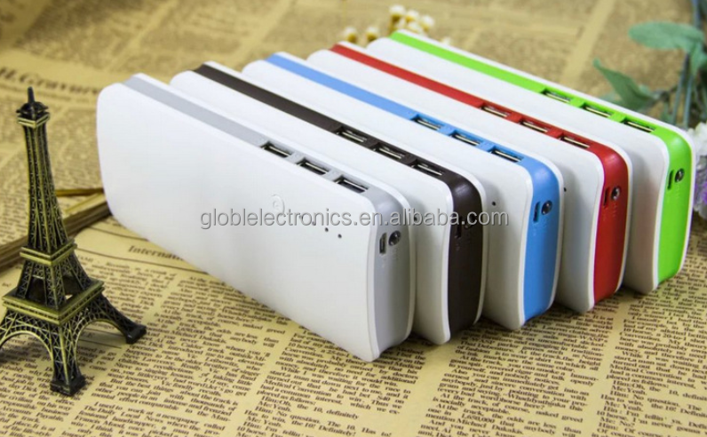 3 USB output powerbank 20000 mah rohs mobile power bank charger 20000mAh