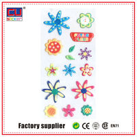 foam cartoon sticker,3d cute small sticker for scrapbooking