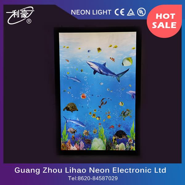 Factory wholesale led picture frame light box with low temperature
