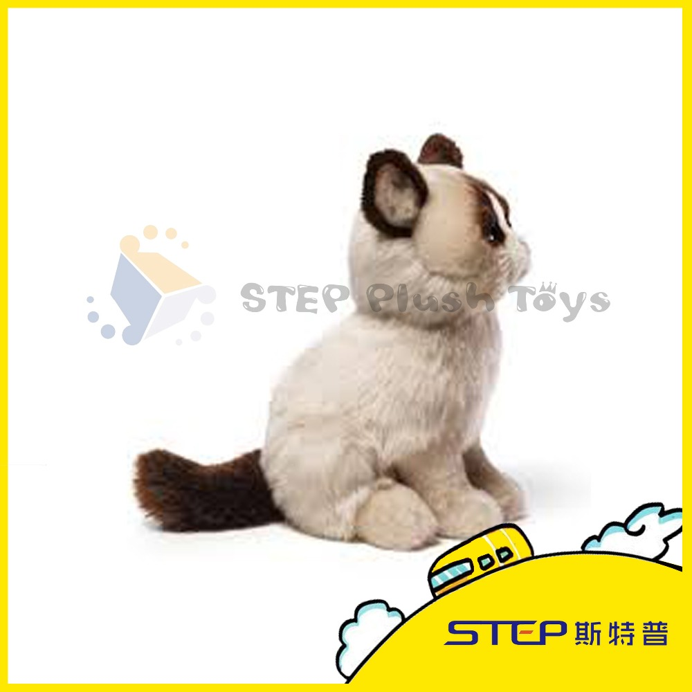 SGS tested Company Mascot Plush Animal Toy Cat