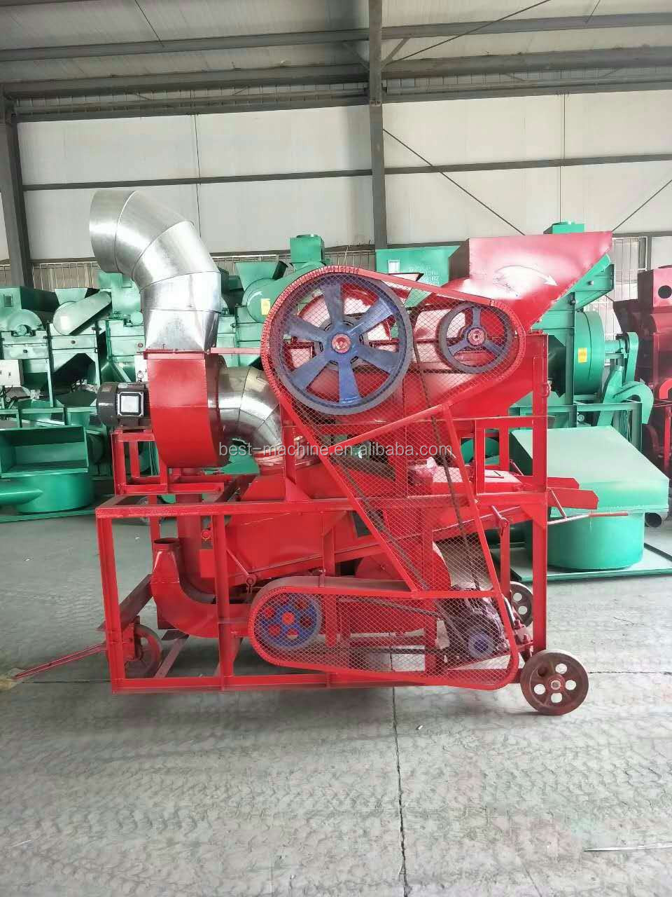 small scale production peanut husking machine