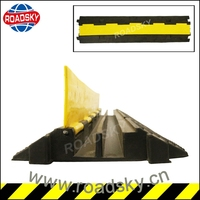 Heavy Duty Plastic Cable Ramp 2 Channel