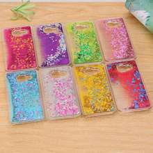 Dynamic Liquid Bling Star Quicksand capa Fundas Case for Samsung Galay A3 A5 A7 2016 J5 J7 Grand Prime S4/S5/S6/S6 Edge/S7 Edge