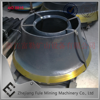 FULE Concave and Mantle,Cone Crusher Bowl Liner,high manganese steel parts