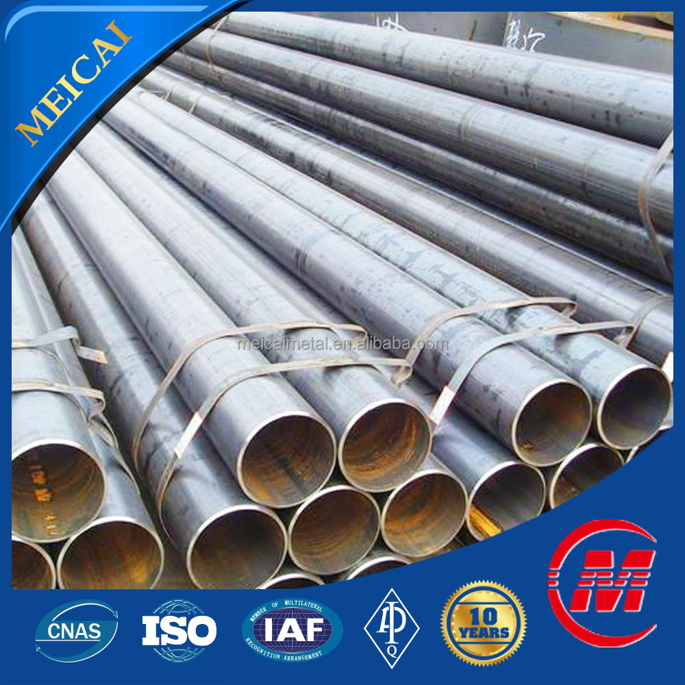 carbon black steel pipe welded tube dimensions