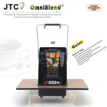 national blender with Built-in sound enclosure box