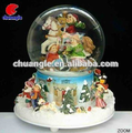 Hot Selling Christmas Snowball Decoration Custom resin water globe