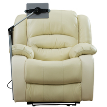 Electric Luxury Lazy Boy Leather Home Theater Single Power White Set Lounge Motorized Top Grain Recliner Sofa Cinema <strong>Furniture</strong>
