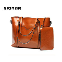 Gionar Factory OEM Products Elegance Women Italian Leather Handbags Bags Made in China
