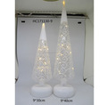New Led Lighted Christmas Tree Decorations with white painting Design