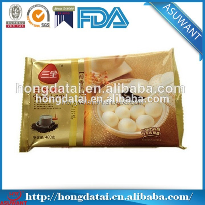 custom printing plastic frozen food packaging bag frozen meat packing bag