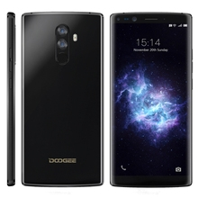 DOOGEE MIX 2 Unlocked HK Stock 6GB 128GB Dual Back Cameras + Dual Front Cameras 4060mAh Battery Android phone