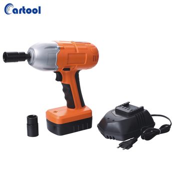 Rechargeable car electric cordless impact wrench