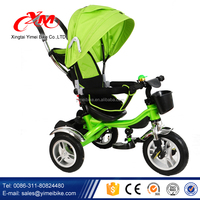 2017 Wholesale Metal Child Tricycle/Top Fashion Kid Tricycle/New style Cheap Kids Tricycle for 3 Point 1 Safty belts