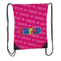 Cheer Dance Gym Sports Tote Back Sling Bag