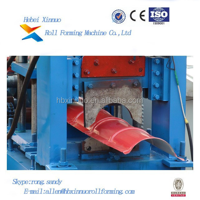 Color Tile Making Machine Automatic Forming Steel Sheet Ridge Cap
