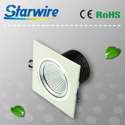 Dimmable 1X5W/2X5W/3X5W led downlight malaysia, ceiling recessed led downlight