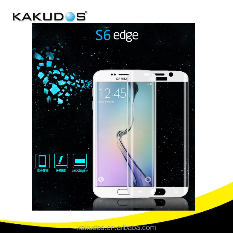 2016 High Clear mobile phone screen protector tempered glass for iphone 6s