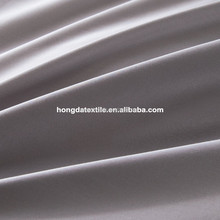 300TC CVC60/40 polyester and cotton blend 300cm width bleached sateen fabric for hotel bed sheets in roll