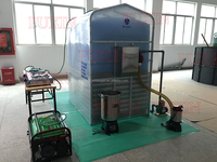 Puxin easy assembling no smell high efficient biogas plant for generate electricity