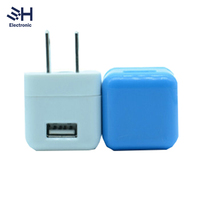 Mobile Phone Accessory Portable 5v 1a USB Wall Travel Charger for iphone/Samsung Galaxy