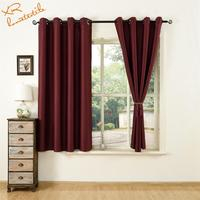 Fatory sale s ready made curtain simple design office curtain blackout and fabric