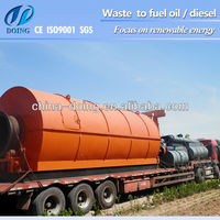 buy used oil distillaition machine which can turn waste tire/plastic/engine oil into diesel