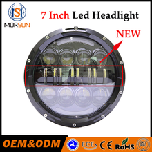 "Auto car accessories 7"" off road led headlight 4x4 led headlight jeep wrangler 7"" led headlight for motorcycle"