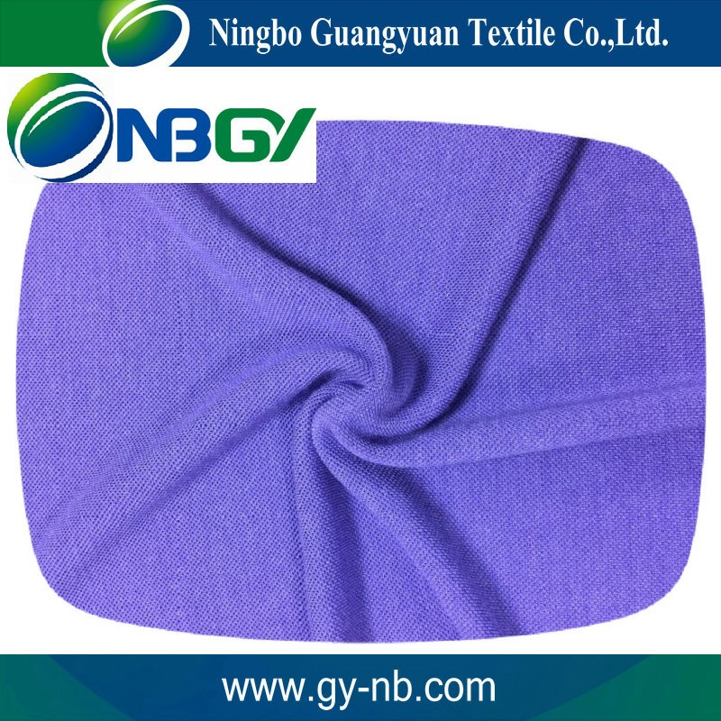 100% cotton Knitted fabric eco friendly T-shirt material fabric cotton netting mesh fabric