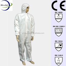 Protective Workwear Disposable Nonwoven Coverall