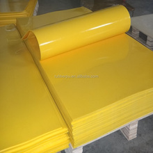 shore hardness polyurethane PU sheet sbr rubber sheet PUR sheet