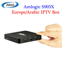 Streaming iptv smart box S905X 1G 8G support european channels QHDTV IUDTV Arabic 4k global tv box live tv usa channels iptv box