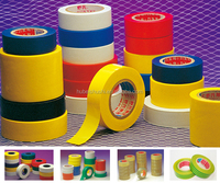 PVC Insulation Electrical Tape/Ordinary PVC Rubber Adhesive Tape-flame retardant and temprature resistance rubber adhesive pvc e